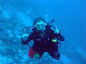 Sophie Hantz - Best Dive Job in the World 2012