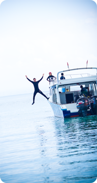 best dive job - kenzo jumping